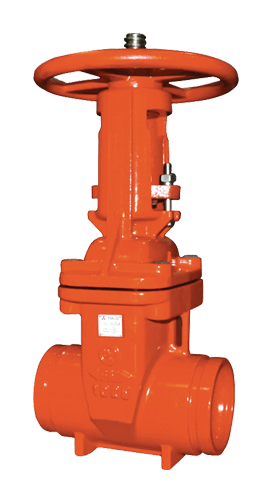 Ductile Iron Fire Protection Valve 300 PSI OS&Y Grooved Elite Valve Image