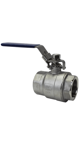 2-Piece Stainless Steel Ball Valve 2000 WOG B02 Elite Valve Image